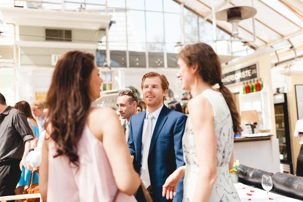 santa barbara wedding photographer reception candid