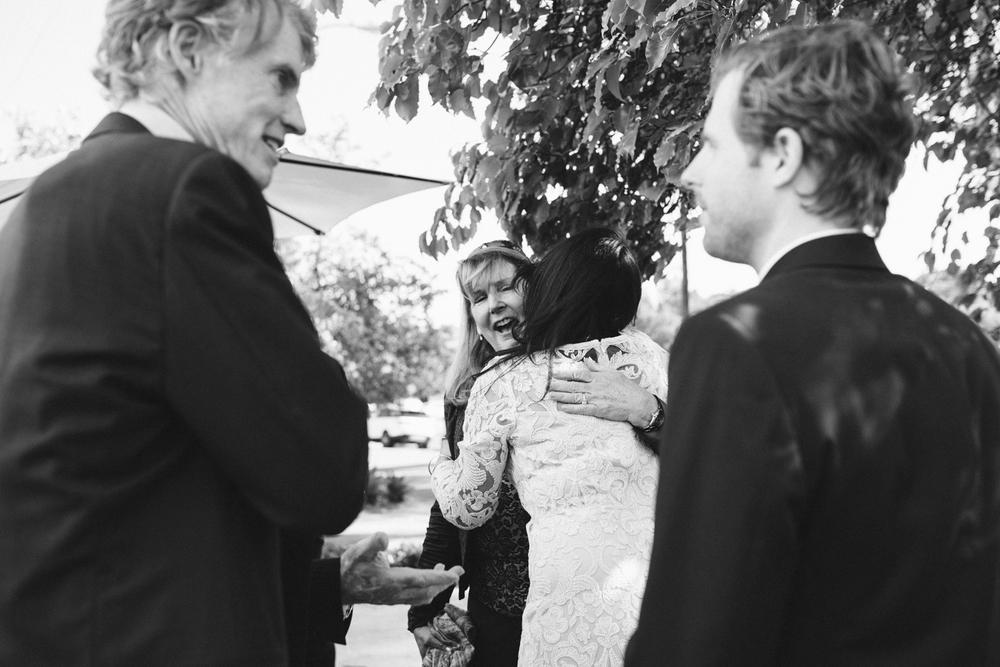 santa barbara wedding photographer reception moment