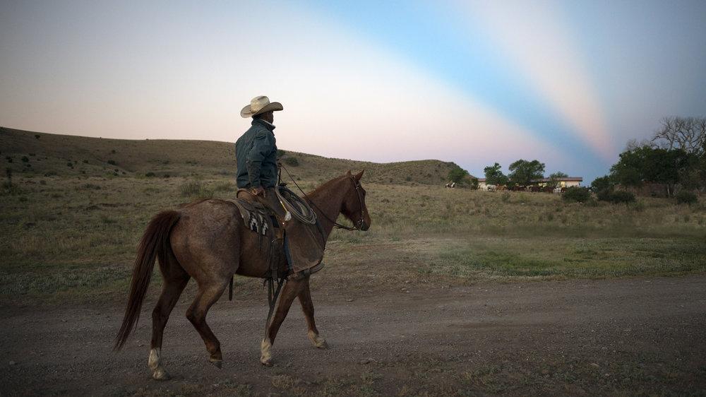 K06 Roundup, Rode Lewis, Dawn, 06 Ranch, Ft. Davis, Texas
