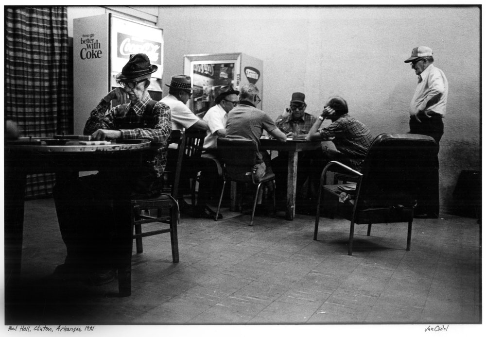 Domino Parlor, Clinton, Arkansas, 1981