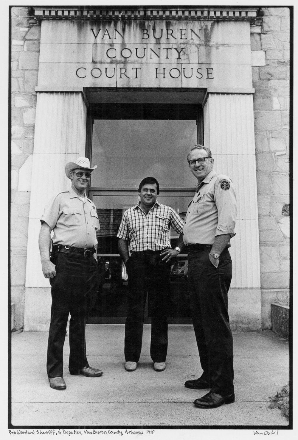 Sherriff and Deputies, Van Buren County, Arkansas, 1981