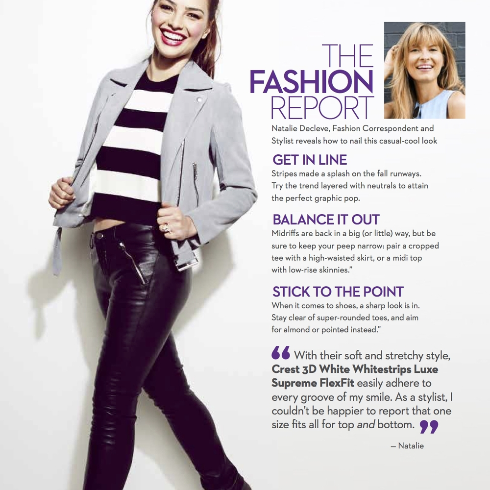 MARIE CLAIREThe Fashion Fix: Natalie Decleve reveals how to nail this casual-cool look