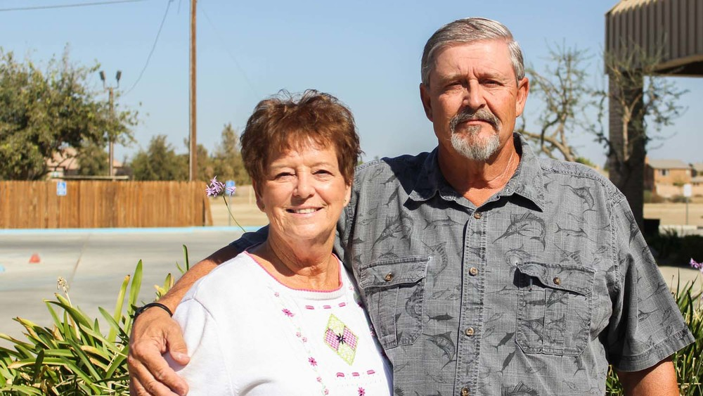 Leader of Usher and Greeters; Butch and Sharon Hasty