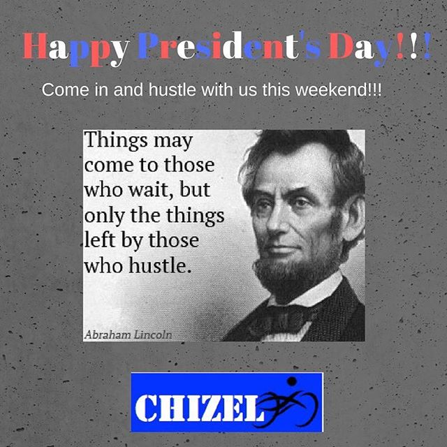 Come in and hustle with us during one of our great classes this holidays weekend!  #getchizeled #fitness #strength #training #fitnessgoals #fitnessmotivation #spinning #balletbarre #hustle