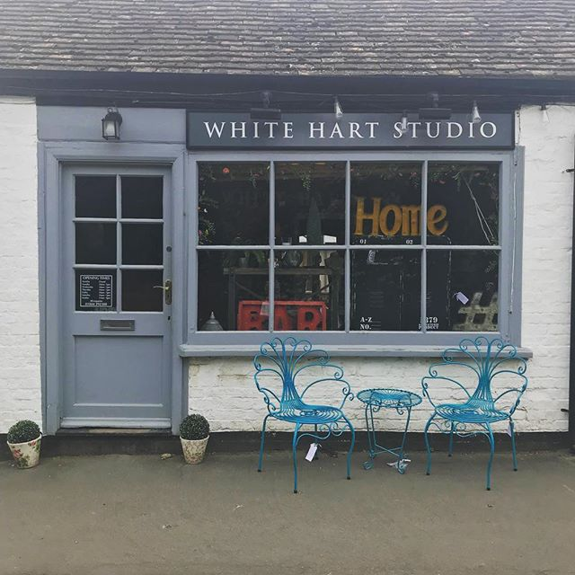 Such a lovely shop with so many fantastic things to buy inside.  Go take a look if you're in the area. @whitehartstudio  #rebranding #logo #freelance #shoplocal #localbusiness