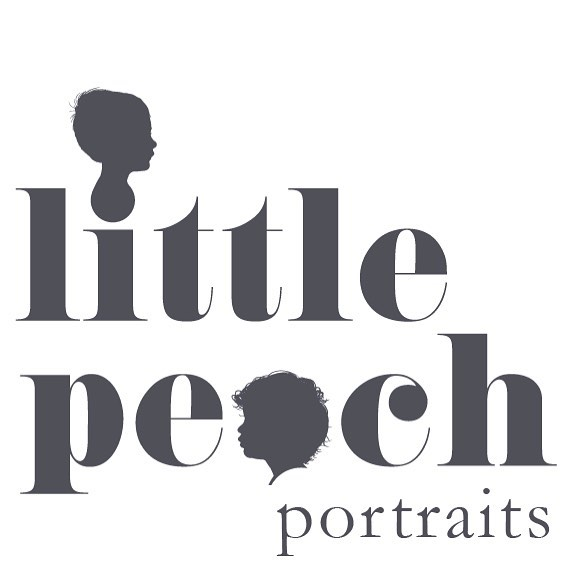 Brand new logo redesign for my other company @littlepeachportraits  It features my boys, BB and Elvi. They're my world, my inspirations, and the reason why I created the portrait business in the first place. So it was the perfect design solution to incorporate their little faces as they are at the heart of the company. . . #newlogo #rebrand #littlepeachportraits #bespoke #silhouettes #childrensportraits #workingmum #myboys #motherofboys #lovemyjob #freelance #designer  #workfromhome