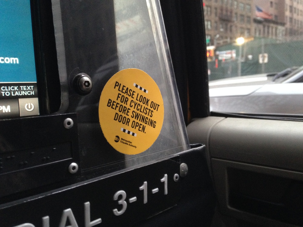 Bike Safety For Nyc Taxis Jason Shelowitz Jay Shells