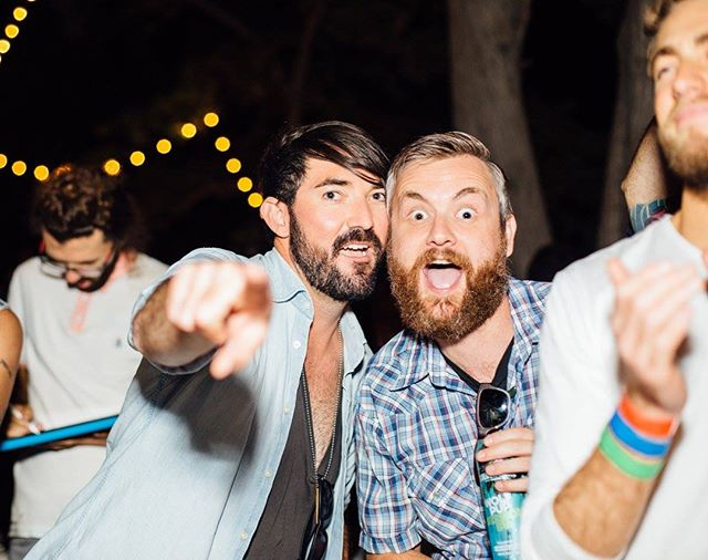 If you know anything about these 2 lunatics, it's that their fave day of the year is this Saturday! The 8th Annual @musackrocks backyard festival is happening and stacked with rad bands. It's literally the only chance you'll ever have to sing along to Rancid songs while Tim Armstrong sings them sitting up in a tree. SWIPE to see the official poster and the secret guests are really really good. Hit the ticket link in our bio, come hang out with us and support a great cause! 🙌💙