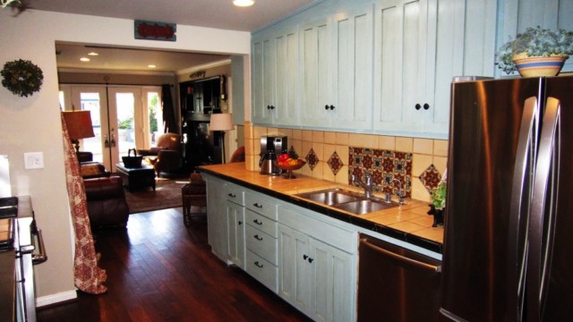 Duck Egg Kitchen Cabinets
