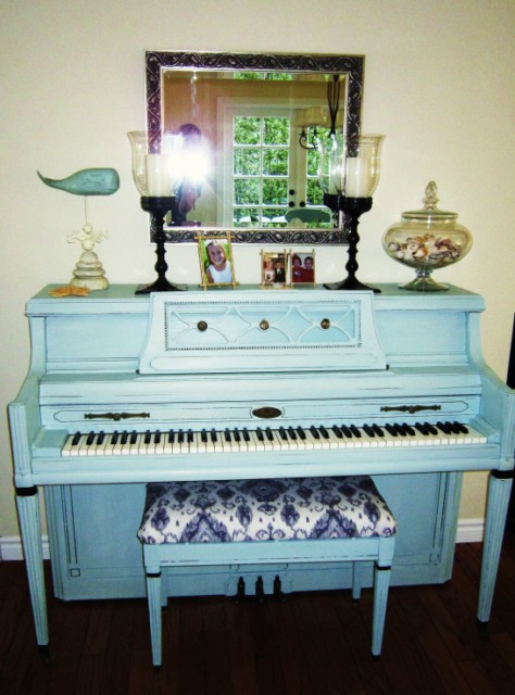 Patti's Painted Piano