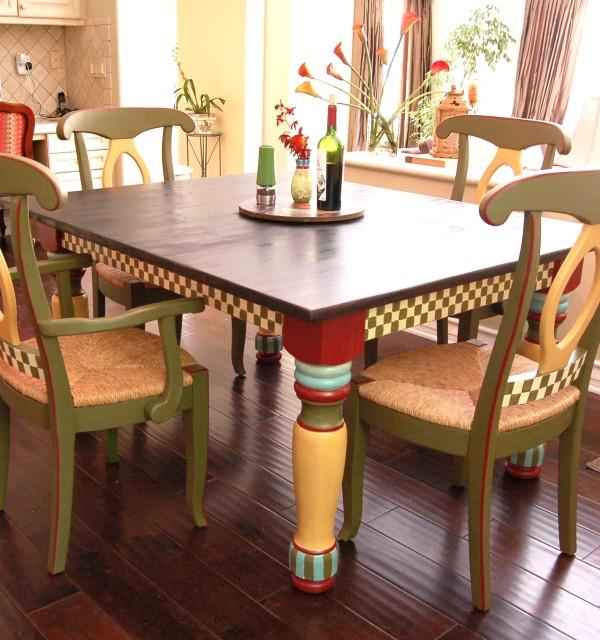 Mackenzie childs inspired jill 39 s abode for Mackenzie childs kitchen ideas