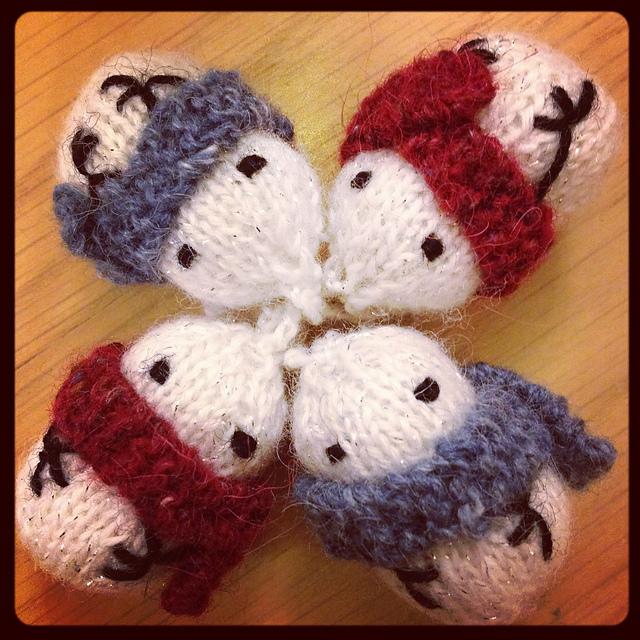 Mochi Mochi Snowmen