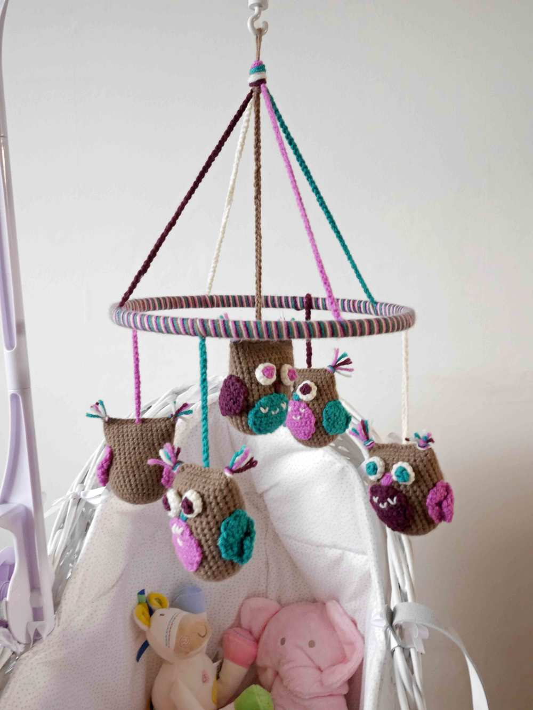 Baby Owl Mobile — Aldersign Designs