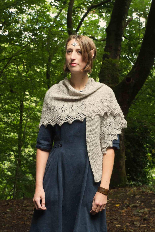 Rhien, the perfect spring shawl — Aldersign Designs