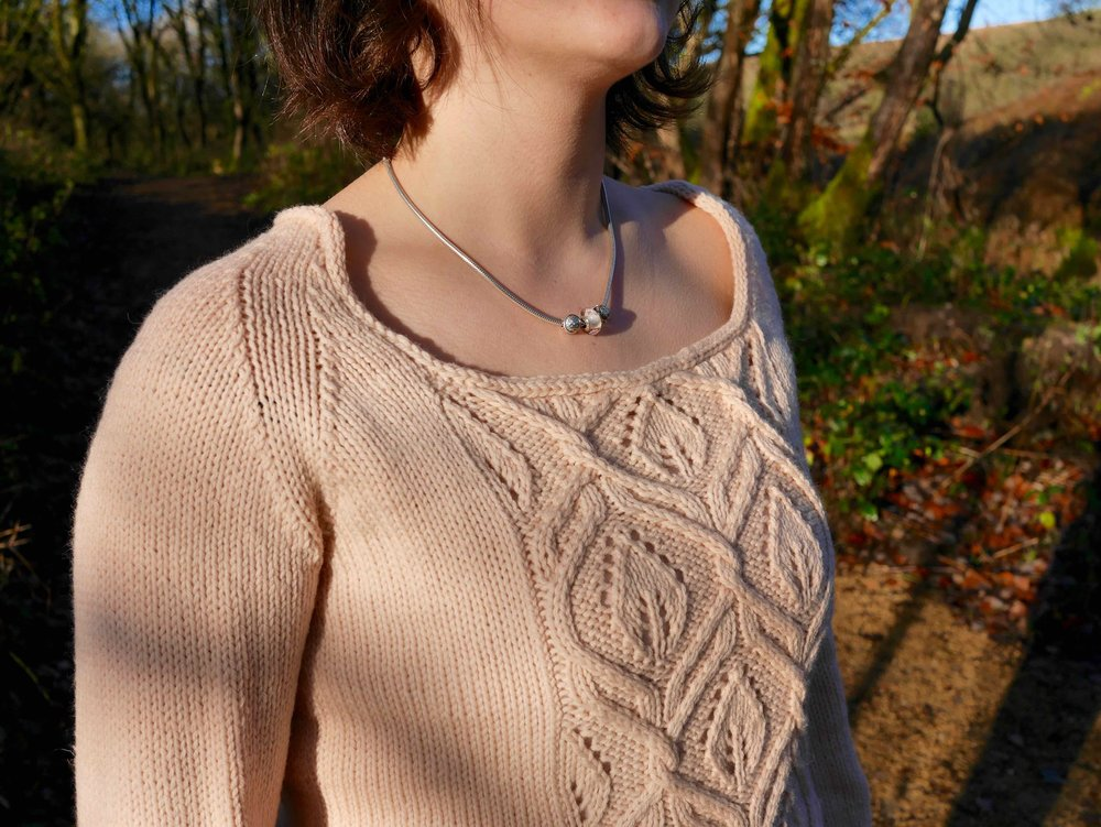 Linden Tree neckline