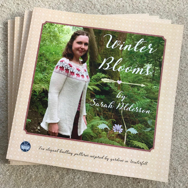 Winter Blooms print books