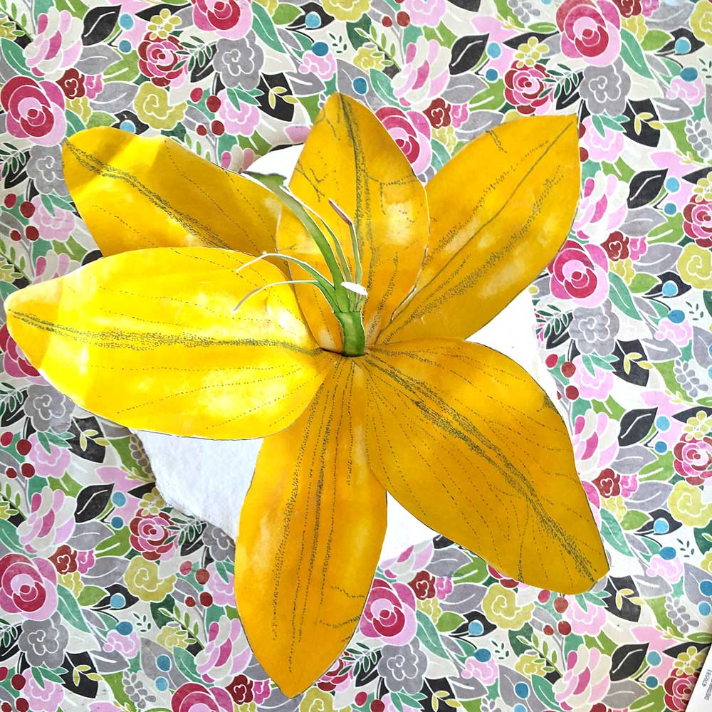 How To Make A Paper Sculpture Lily Pam Ash Designs