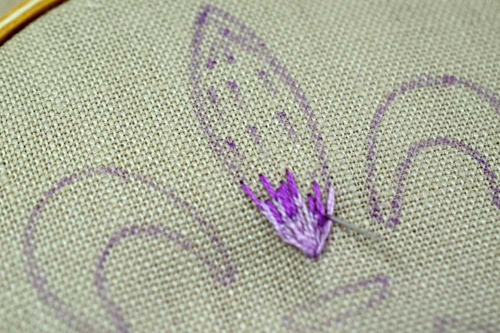 The Long And Short Stitch Shading Pam Ash Designs