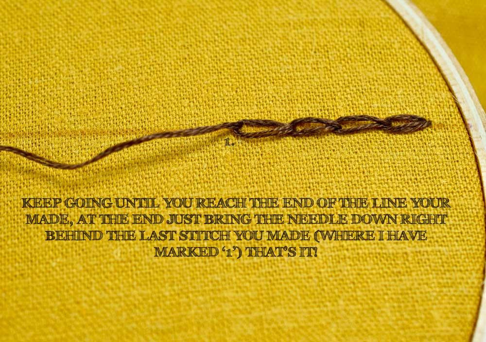 The Chain Stitch Pam Ash Designs
