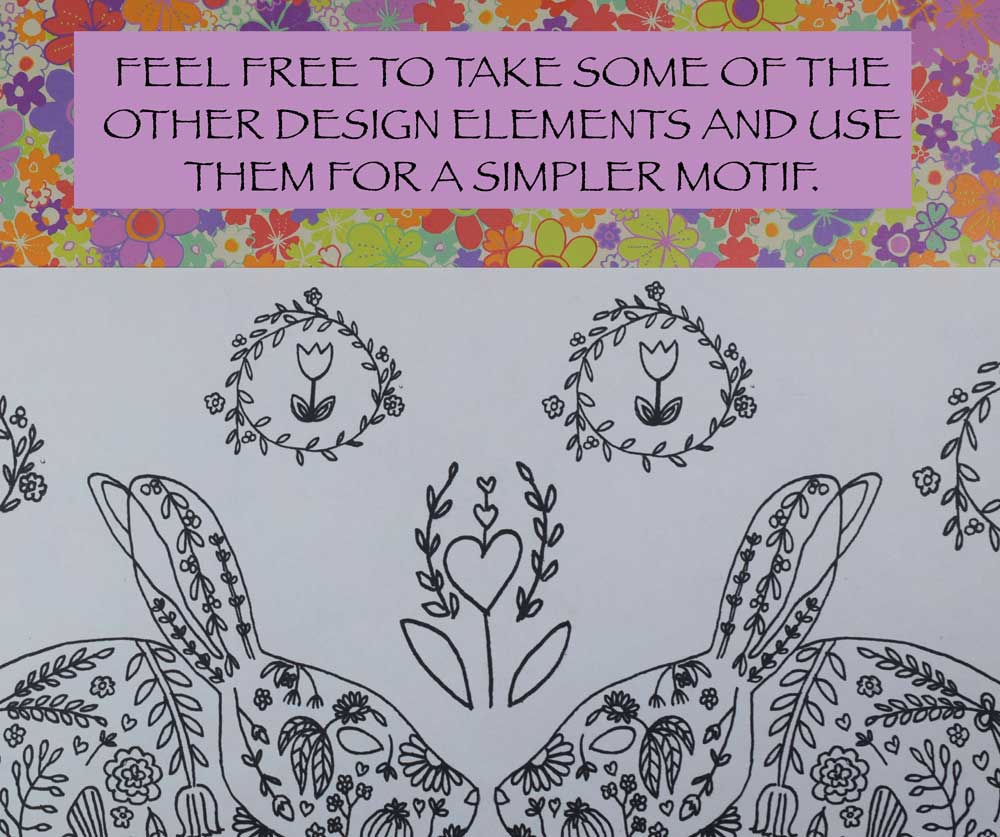 HAPPY SPRING! A FREE EMBROIDERY PATTERN TO USHER IN THE NEW SEASON ...