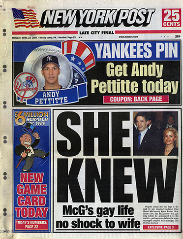 New York Post April 2007