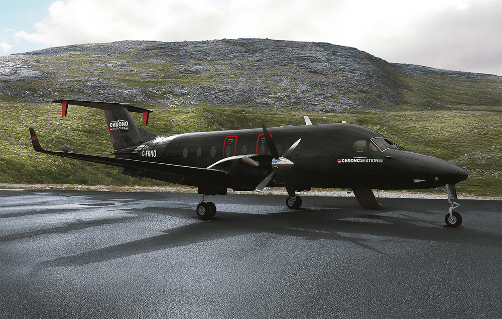 Le nouveau Beechcraft 1900D de Chrono Aviation