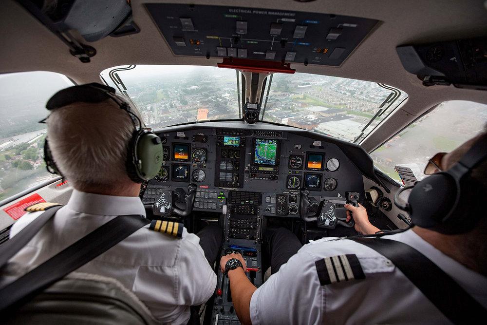 Cockpit du PC-12