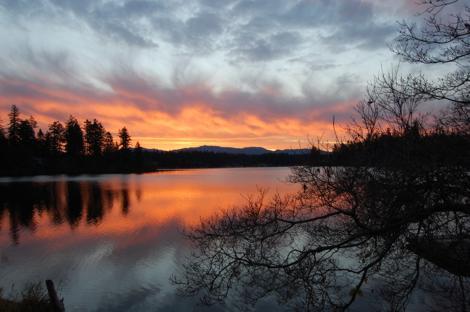 Thanksgiving sunrise opt