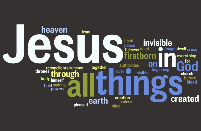 Colossians 1 wordle