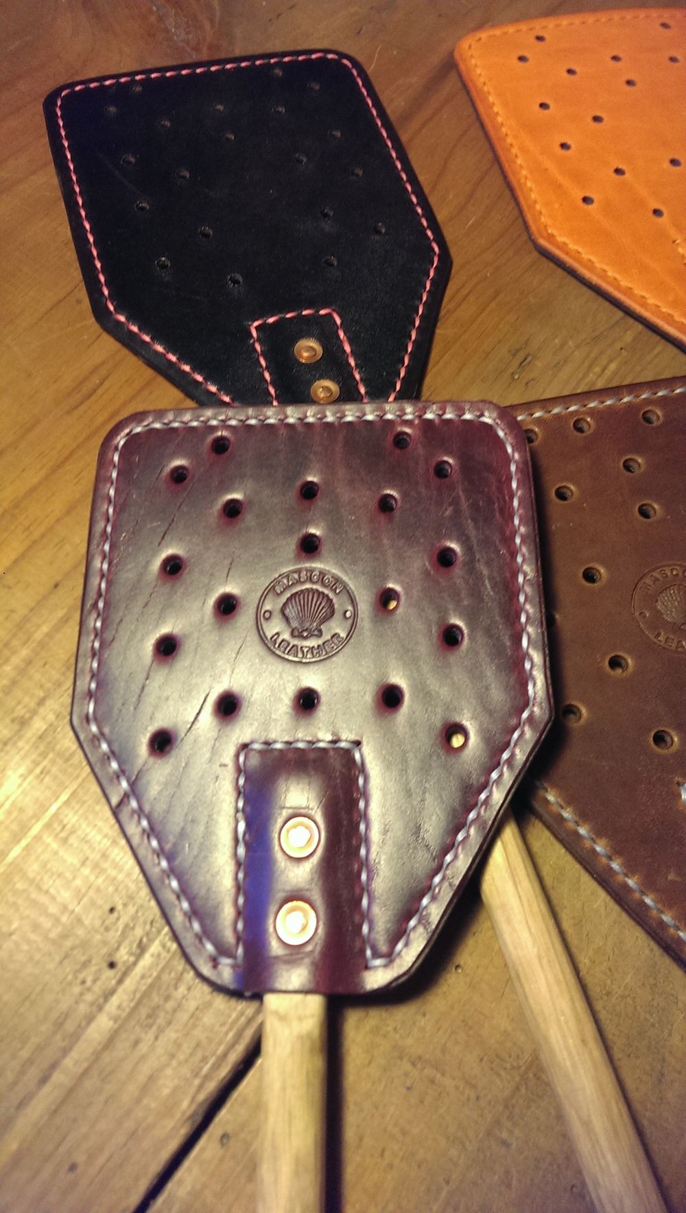 Grape Cavalier Horween
