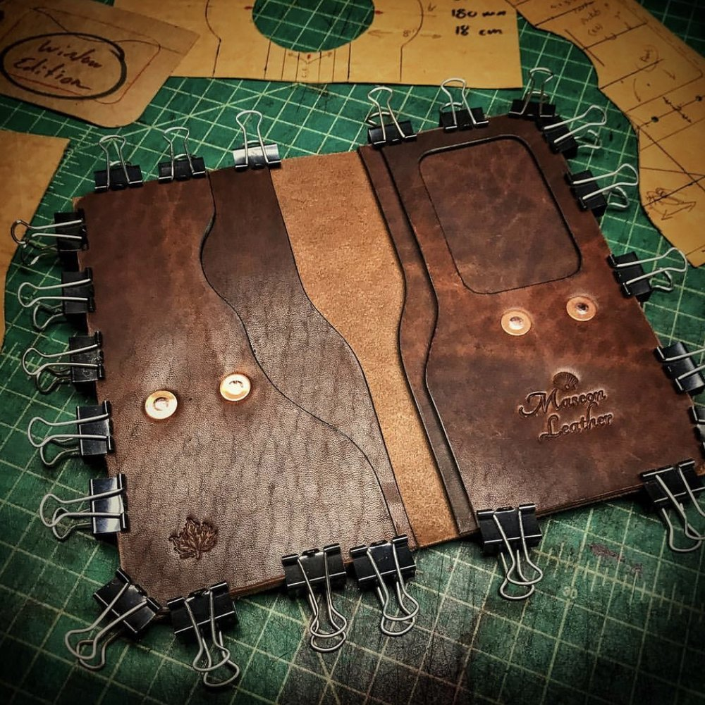Tall Tennyson Wallet