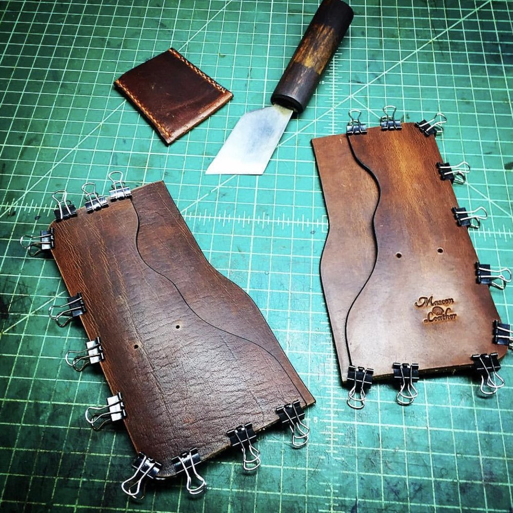 Tall Tennyson Wallet Work