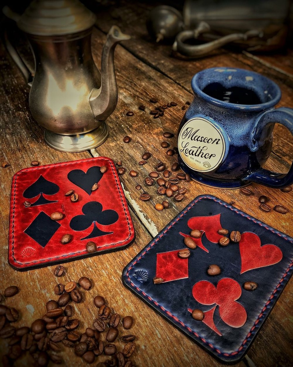 Card Suit Coasters