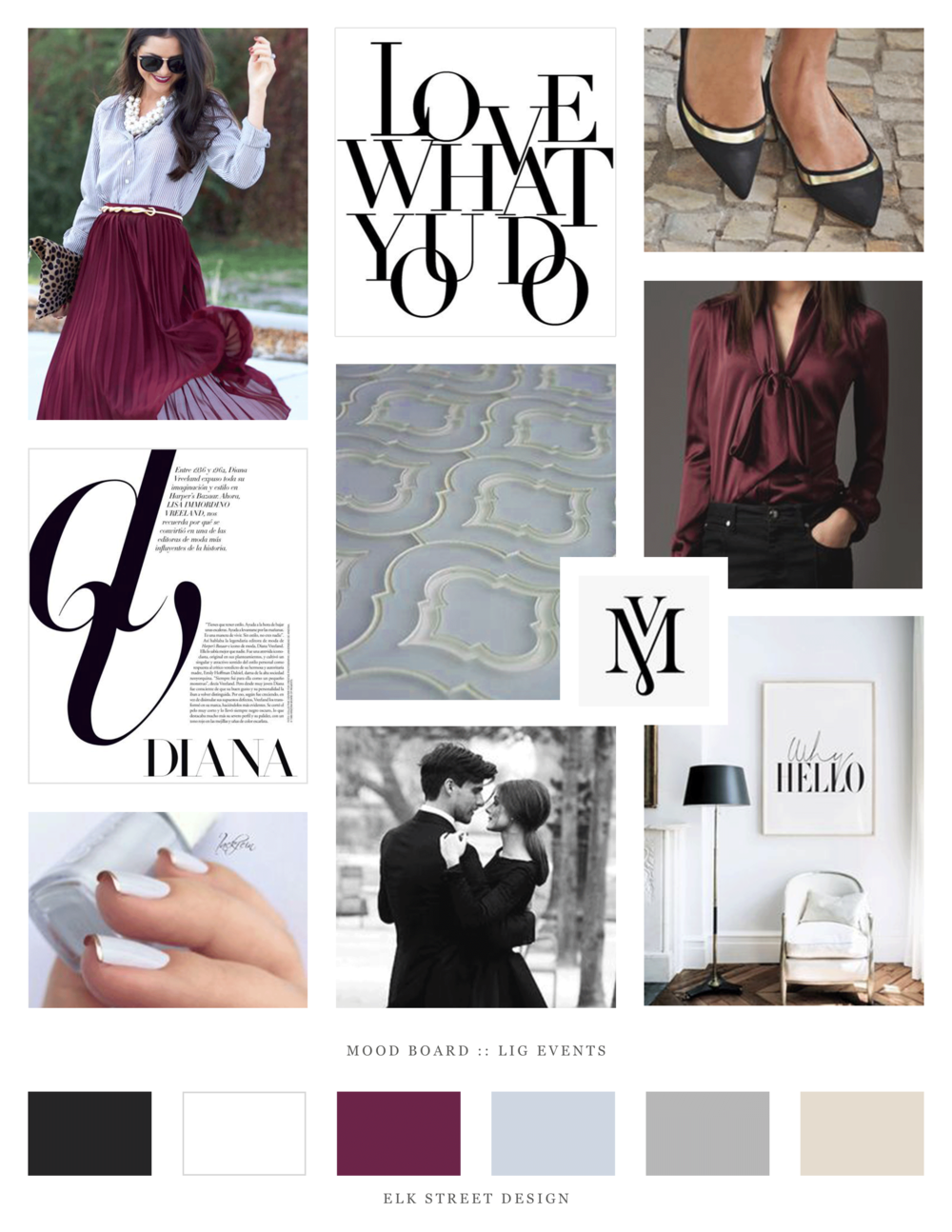 LIG Branding Mood Board