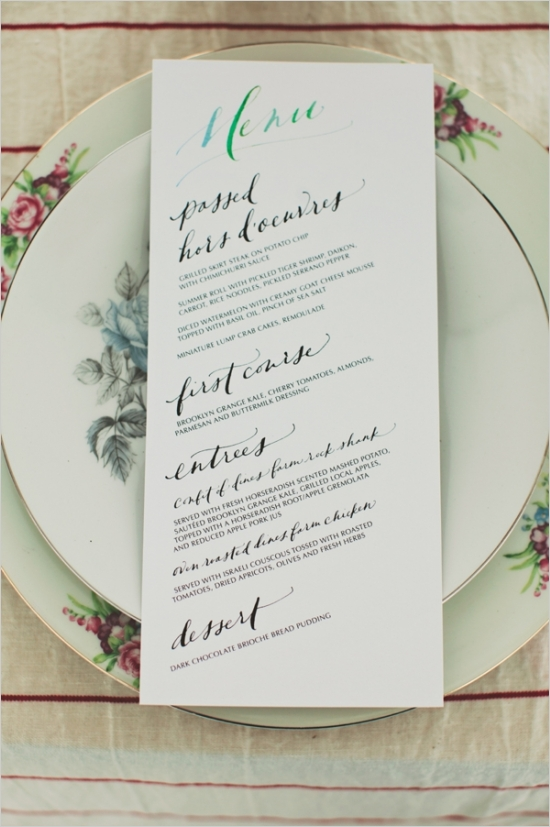 Menu by Paperfinger.  Photo by Les Loups.