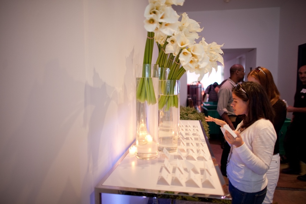That's me setting out escort cards for an event back in 2011!