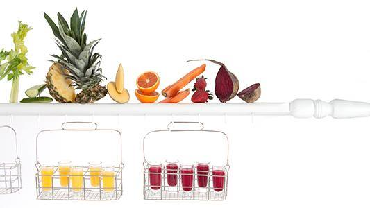 "Juice ""Bar"" by  Pinch Food Design"
