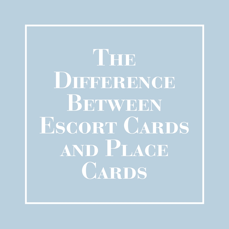The Difference Between Escort Cards and Place Cards | LIG Events - Washington, DC Wedding and Event Planners