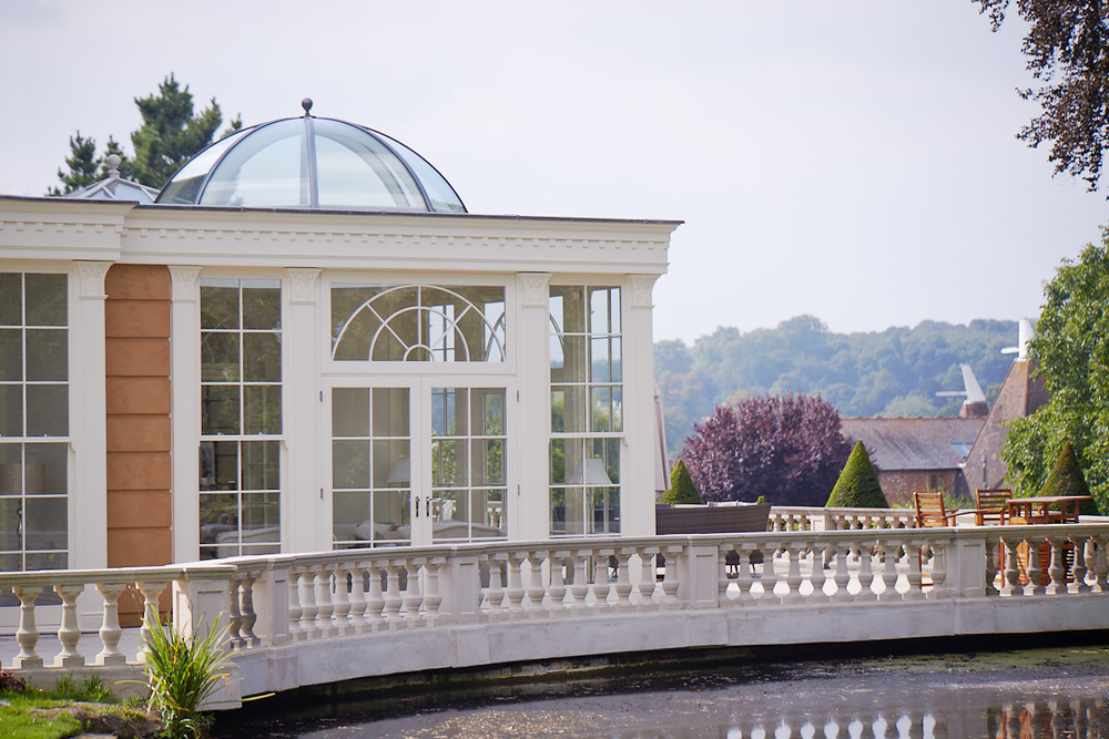 exterior orangery with dome roof.jpg
