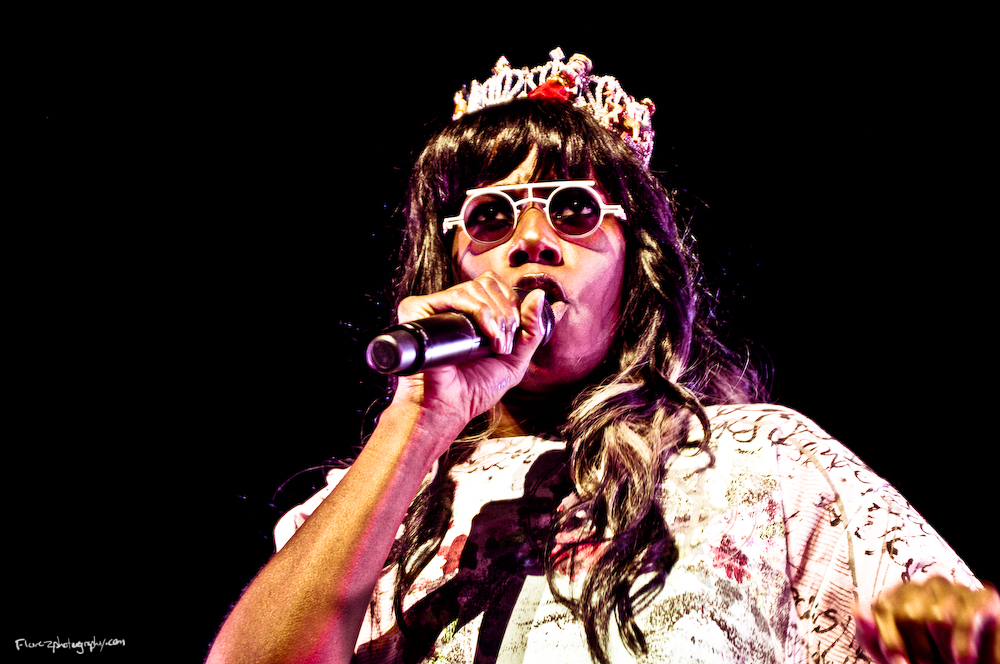 Santigold in the Amway Arena in Orlando