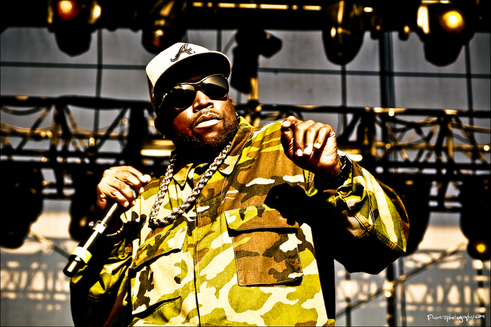 Big Boi of Outkast in Pensacola FL