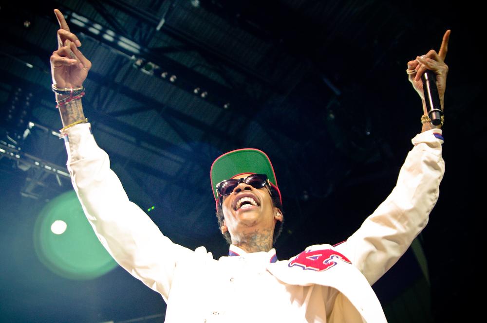 Wiz Khalifa @ The St. Augustine Ampitheatre
