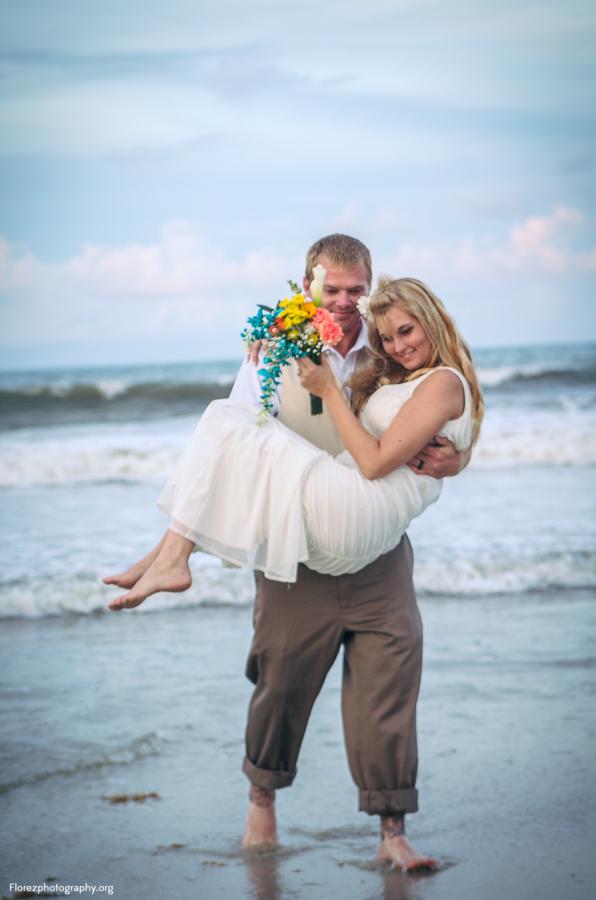 St Augustine Beach elopement