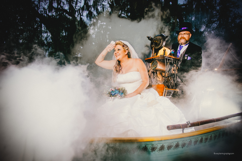 Steampunk Themed Wedding