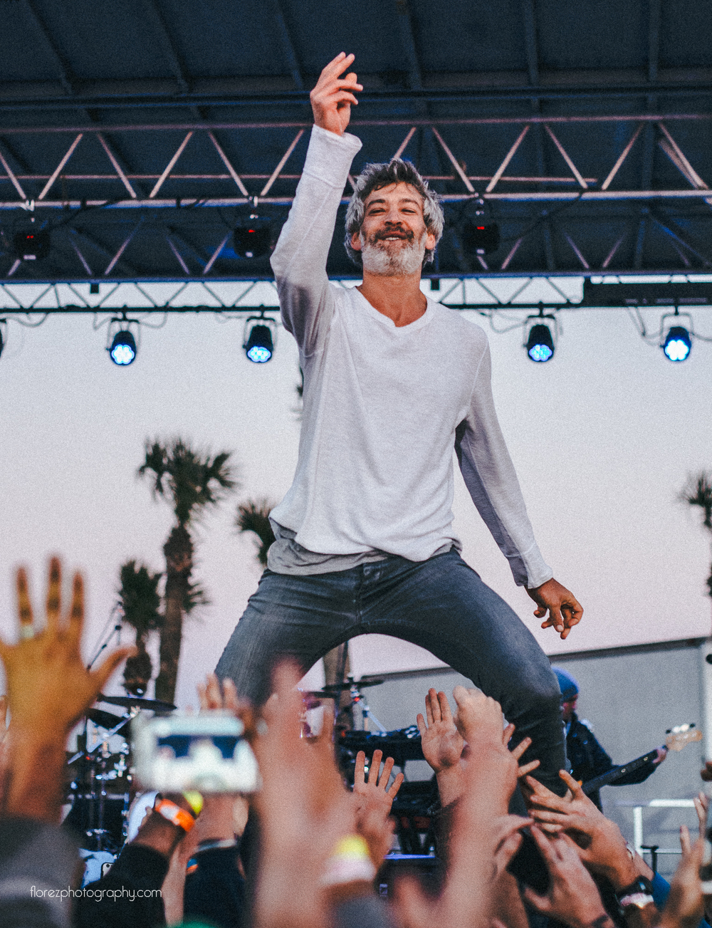 Matisyahu walking on hands.