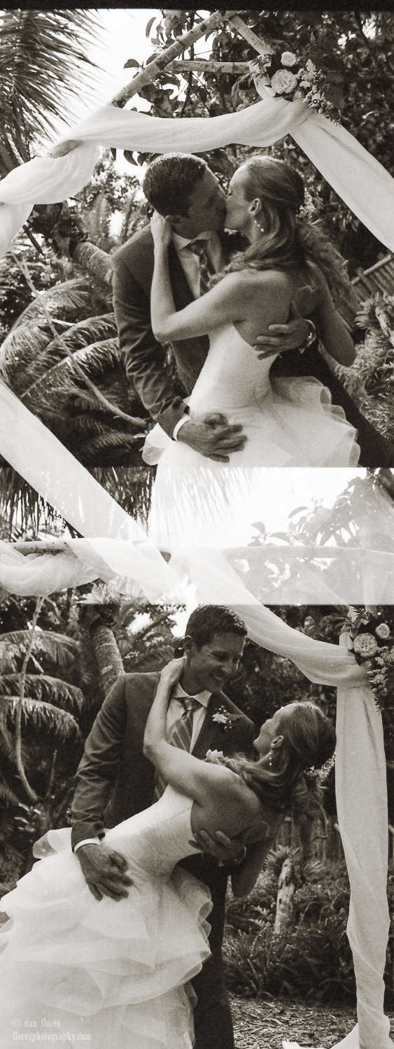 35mm wedding photo