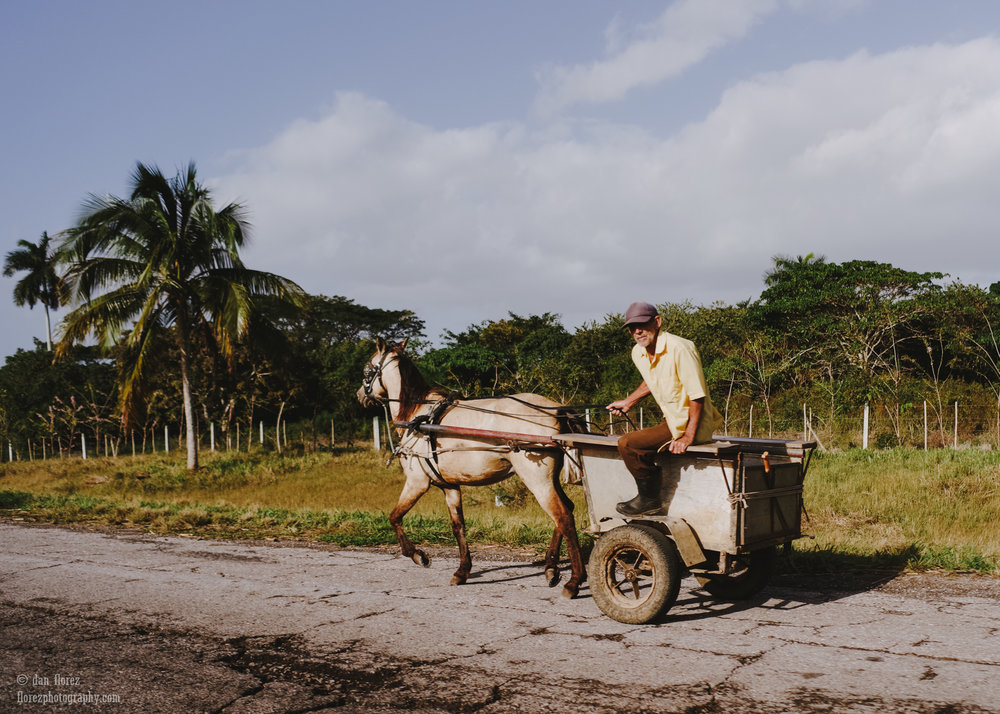 Outside the cities, this is a common mode of transportation and crucial method for work.