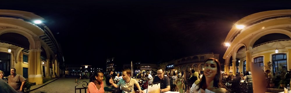 My poor atttempt at a cellphone panorama. Glitched as can be.