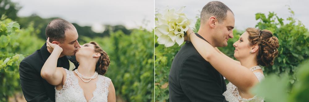 Jennifer and Mark's beautiful Pugliese Vinyards Wedding