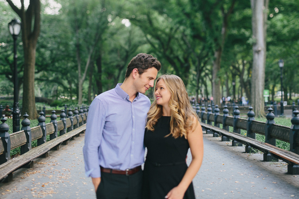 Chelsea and Adam's Central Park Anniversary Portriats
